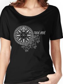 Compass Rose Noir Women's Relaxed Fit T-Shirt