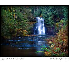 Card: The Approach To Upper North Falls by USGolfers