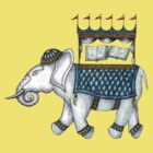 Guinnivere The Elephant by Kristina Hestenes Stimson