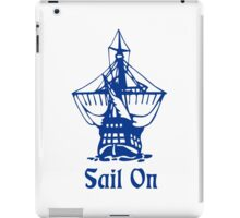 Sail on iPad Case/Skin