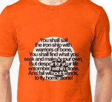 Percy Jackson and the Olympians The Sea of Monsters Prophecy Unisex T-Shirt