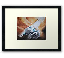 In the cavern Framed Print