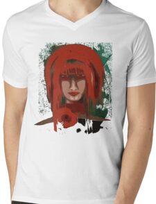 Redhead Mens V-Neck T-Shirt
