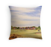 Royal Lytham And St Annes 18Th Hole Throw Pillow