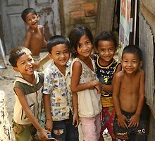 Khmer Children by Trishy