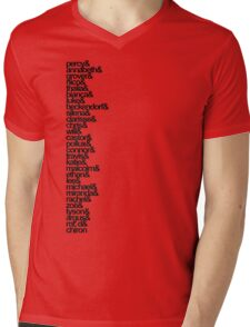 Percy Jackson and the Olympians Characters Mens V-Neck T-Shirt