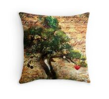 The Harvest: A New Heart Throw Pillow