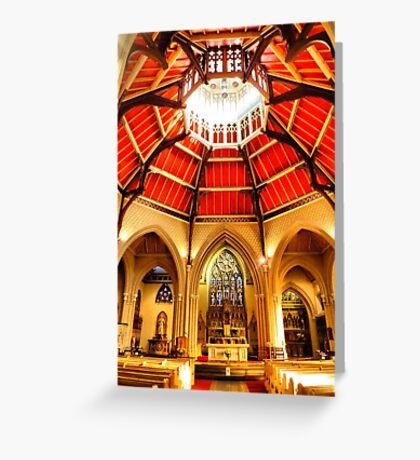 Sacred Heart Blackpool Greeting Card