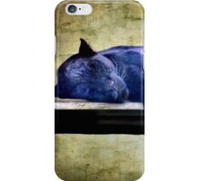 Afternoon nap iPhone Case/Skin