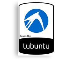 powered by Lubuntu ! Canvas Print