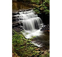 Waterfall Landscape Photographic Print