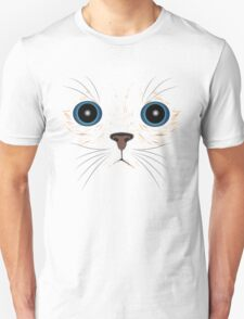 Funny kitty face Unisex T-Shirt