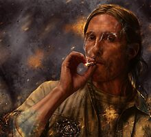True Detective - Rust Cohle 2014 by p1xer