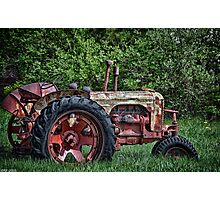 Has Caught Some Rust Photographic Print