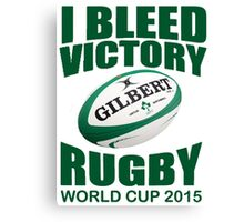 Ireland Rugby Union World Cup 2015 - Tshirts, Stickers, Mugs, Bags Canvas Print