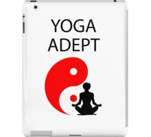 Yoga adept iPad Case/Skin