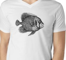 Tropical Fish Mens V-Neck T-Shirt