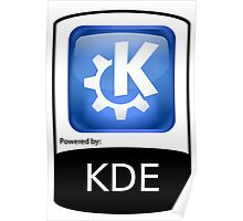 Powered By KDE ! Poster