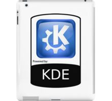 Powered By KDE ! iPad Case/Skin
