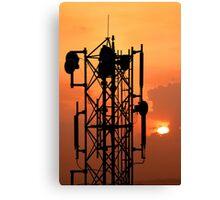 Communication Tower Canvas Print