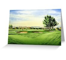 Carnoustie Golf Course Scotland Greeting Card