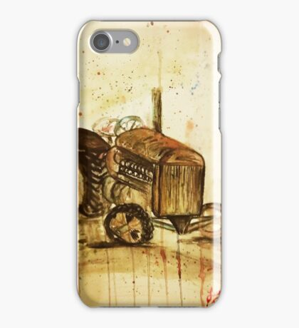 Old Tractor iPhone Case/Skin