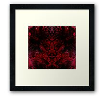 Blood for the Blood God Framed Print