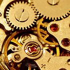 Antique watch mechanism by snehit