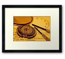 Watch repair Framed Print