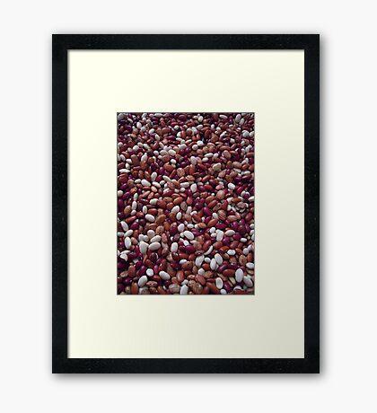 """""""Beans"""" Framed Print"""