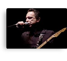 Jimmy Vaughan, 7.21.2002 Canvas Print