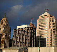 Downtown Detroit by snehit