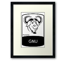 powered by GNU ! Framed Print