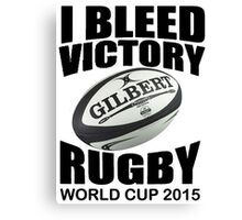 New Zealand Rugby Union World Cup 2015 - Tshirts, Stickers, Mugs, Bags Canvas Print