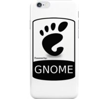 powered by GNOME ! iPhone Case/Skin