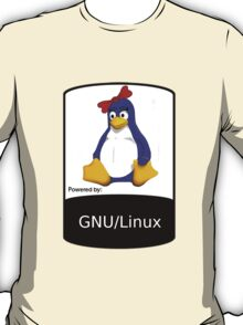 powered by GNU/LINUX ! T-Shirt