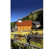 Old church in Colorado Photographic Print
