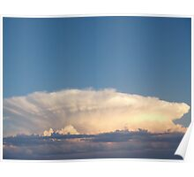 Amazing cloud formation Poster