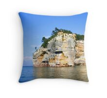 Pictured Rock Throw Pillow