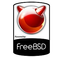 Powered by FreeBSD Photographic Print