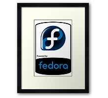 Powered By Fedora ! Framed Print