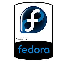 Powered By Fedora ! Photographic Print
