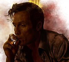 True Detective - Rust Cohle by p1xer