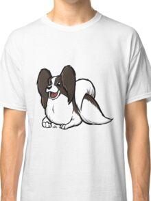 Papillon cartoon dog Classic T-Shirt