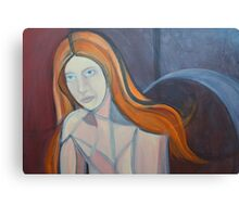 Red Head 2  Canvas Print
