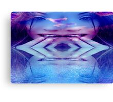 Blue Reflection Canvas Print