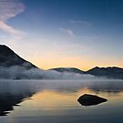 Mist Over Norfolk Island - Ullswater, Cumbria UK by David Lewins LRPS