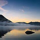 Mist Over Norfolk Island - Ullswater, Cumbria UK by David Lewins