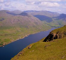 The Lake District: The Length of Wastwater by Rob Parsons