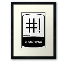 Linux - CHUNCHBANG ! Framed Print